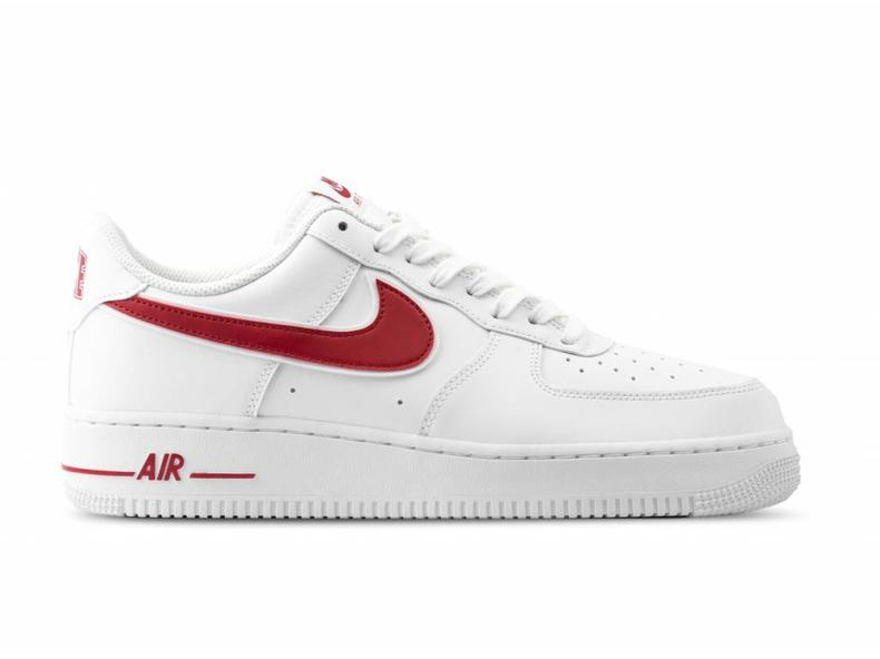 new product 66add 69613 Air Force 1  07 3 White Gym Red AO2423 102