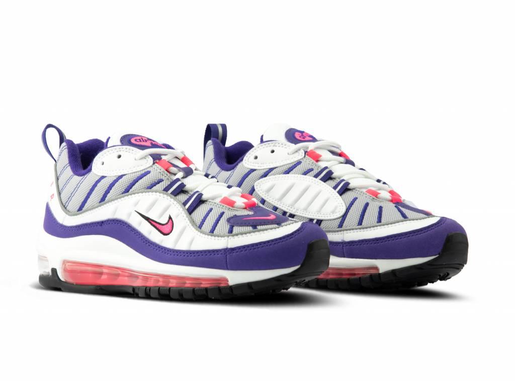 Nike W Air Max 98 White Racer Pink AH6799 110 | Bruut Online