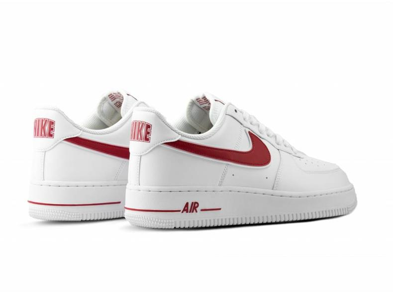 Air Force 1 '07  3 White Gym Red AO2423 102
