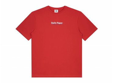 Daily Paper Essential T Shirt Red 19S1TS18 01