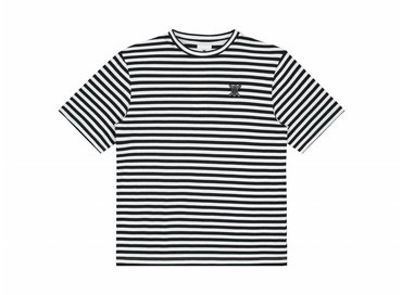 Daily Paper Essential Striped T Shirt Black White  00N1TS04 01