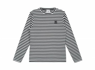 Daily Paper Essential Striped Longsleeve Black White  00N1LS01 01