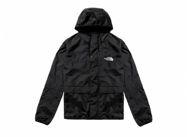 The North Face 1985 Mountain Jacket Black High Rise Grey T0CH37C4V