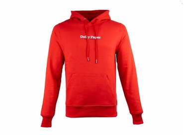 Daily Paper Essential Hoodie Red 19S1HD0801