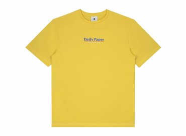Daily Paper Essential T Shirt Light Yellow 19S1TS18 05