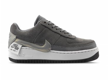 Nike Air Force 1 Jester Lo Gunsmoke Metallic Pewter vast Grey BQ3163 001