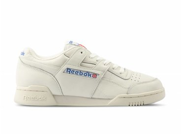 Reebok Workout Plus 1987 TV Chalk Paper White Royal DV6435