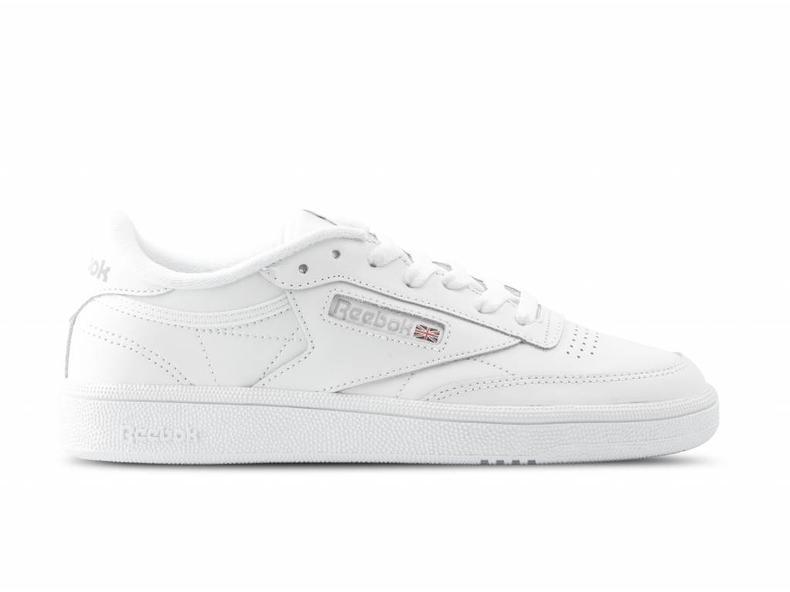 c4dda7c061491 Reebok Club C 85 White Light Grey BS7685