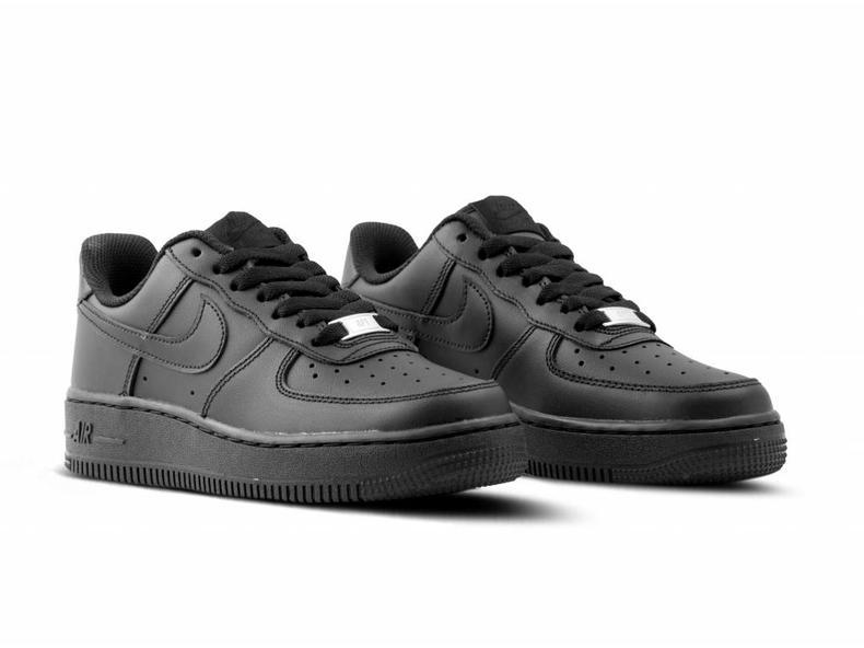 WMNS Air Force 1 '07 Black Black 315115 038