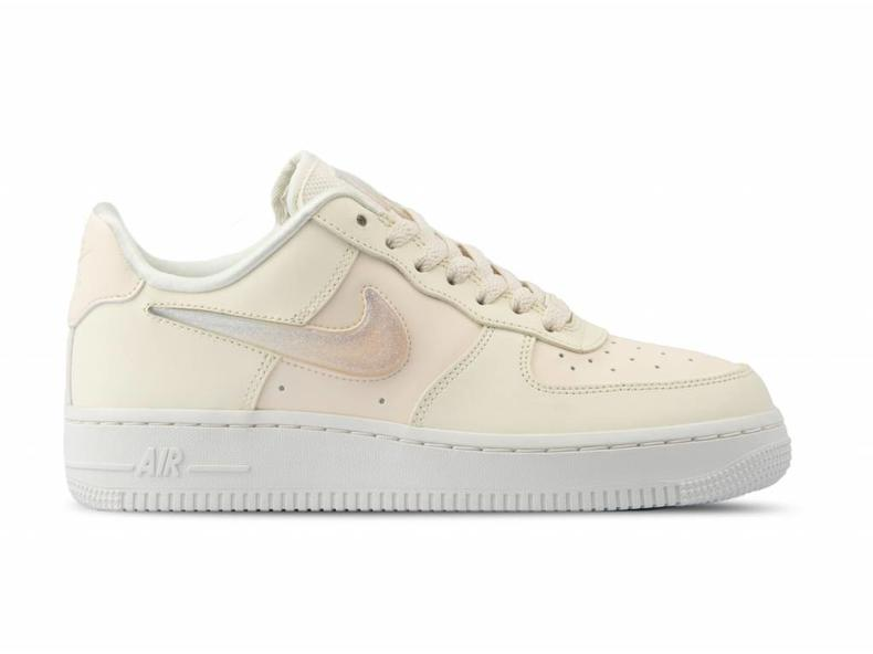 new product 407c4 8aae0 W Air Force 1  07 SE PRM Pale Ivory Summit White AH6827 100