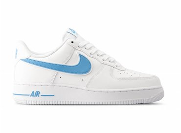 competitive price eac0b 19a6c Nike Air Force 1  07 3 White University Blue AO2423 100