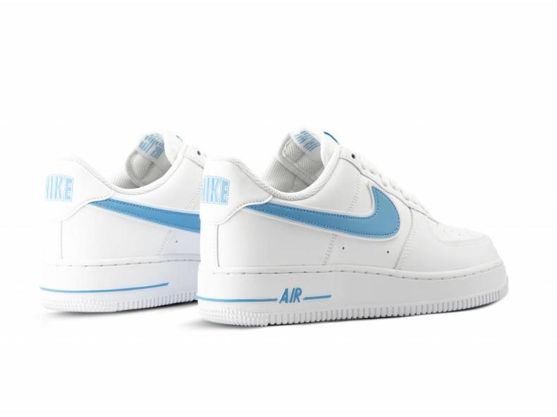 promo code 7fc07 9f4ec Air Force 1  07 3 White University Blue AO2423 100