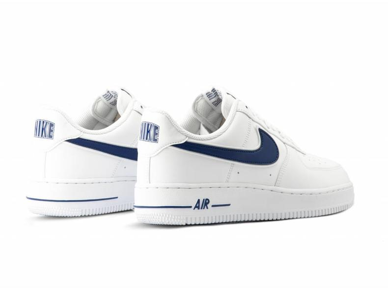 best quality wholesale new lower prices Air Force 1 '07 3 White Deep Royal AO2423 103