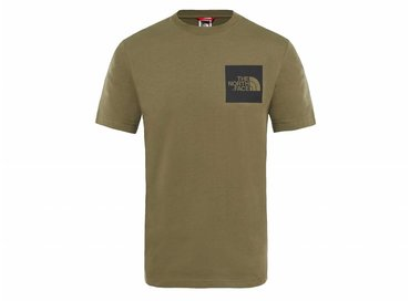 The North Face Fine Tee New Taupe Green T0CEQ521L