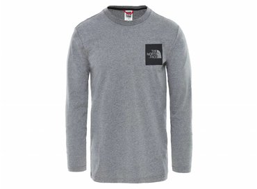 The North Face Fine Tee Medium Grey Heat T937TDYY