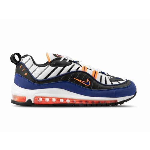 Air Max 98 White Deep Royal Blue CD1536 100
