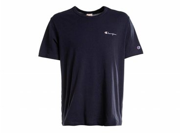 Champion Crewneck T Shirt Navy 211985 S19 BS501