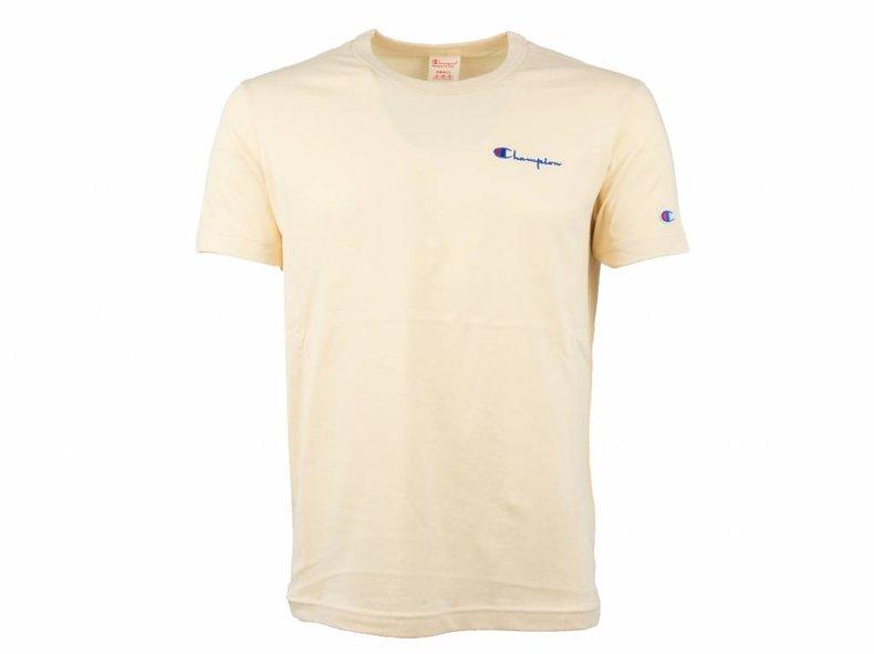 Crewneck T Shirt Sand 211985 S19 MS044