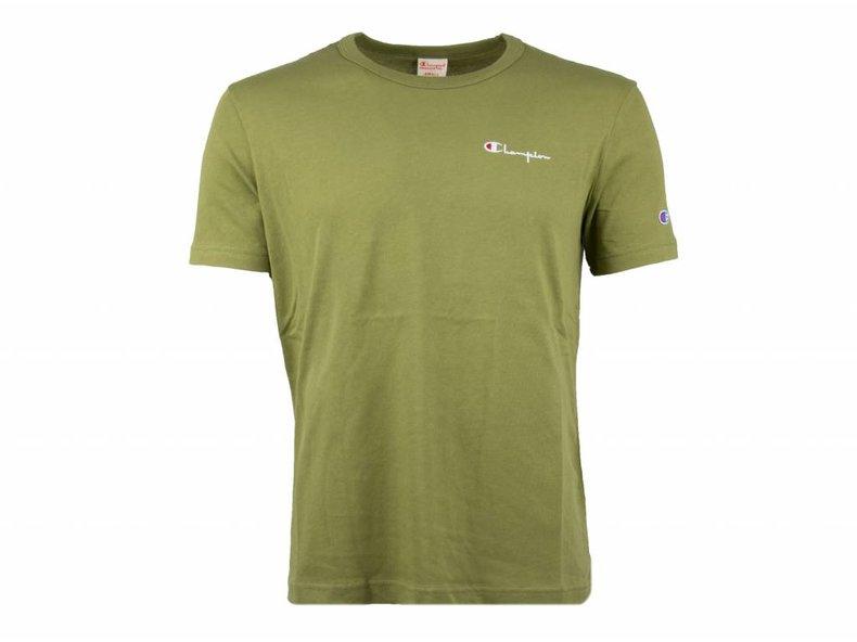 Crewneck T Shirt Green 211985 S19 GS543