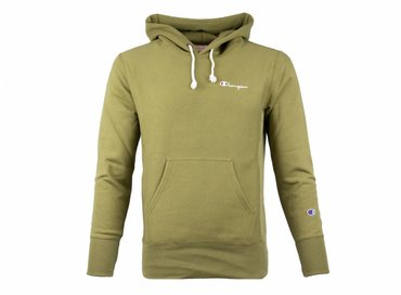Champion Hooded Sweatshirt Green 212968 S19 GS543