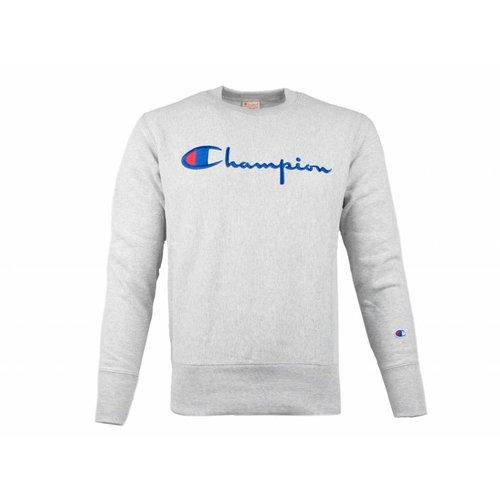 Crewneck Sweatshirt Logo Grey 212576 S19 EM004