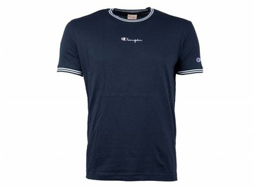 Champion Crewneck T Shirt Navy 213034 S19 BS501