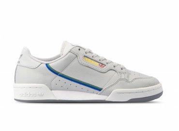 Adidas Continental 80 Grey Two Grey One Scarlet CG7128