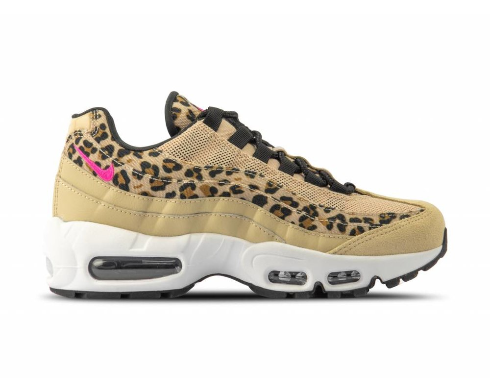 Nike WMNS Air Max 95 PRM Desert Ore Laser Fuchsia Black Wheat CD0180 200