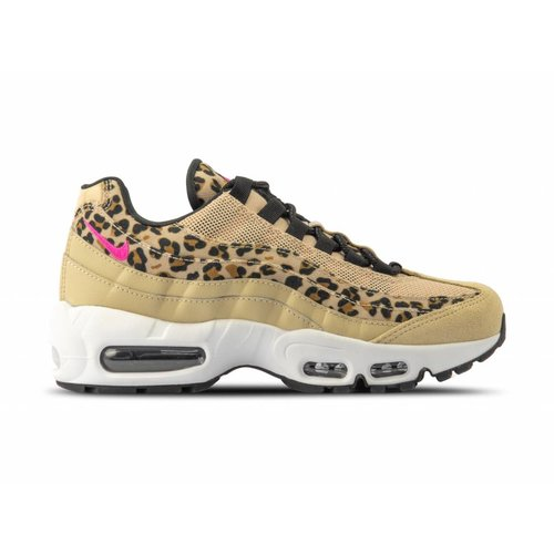 WMNS Air Max 95 PRM Desert Ore Laser Fuchsia Black Wheat CD0180 200
