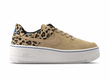 Nike W Air Force 1 Sage LO PRM Desert Ore Racer Blue Black Wheat BV1979 200