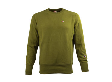 Champion Crewneck Sweatshirt Green 212572 S19 GS543