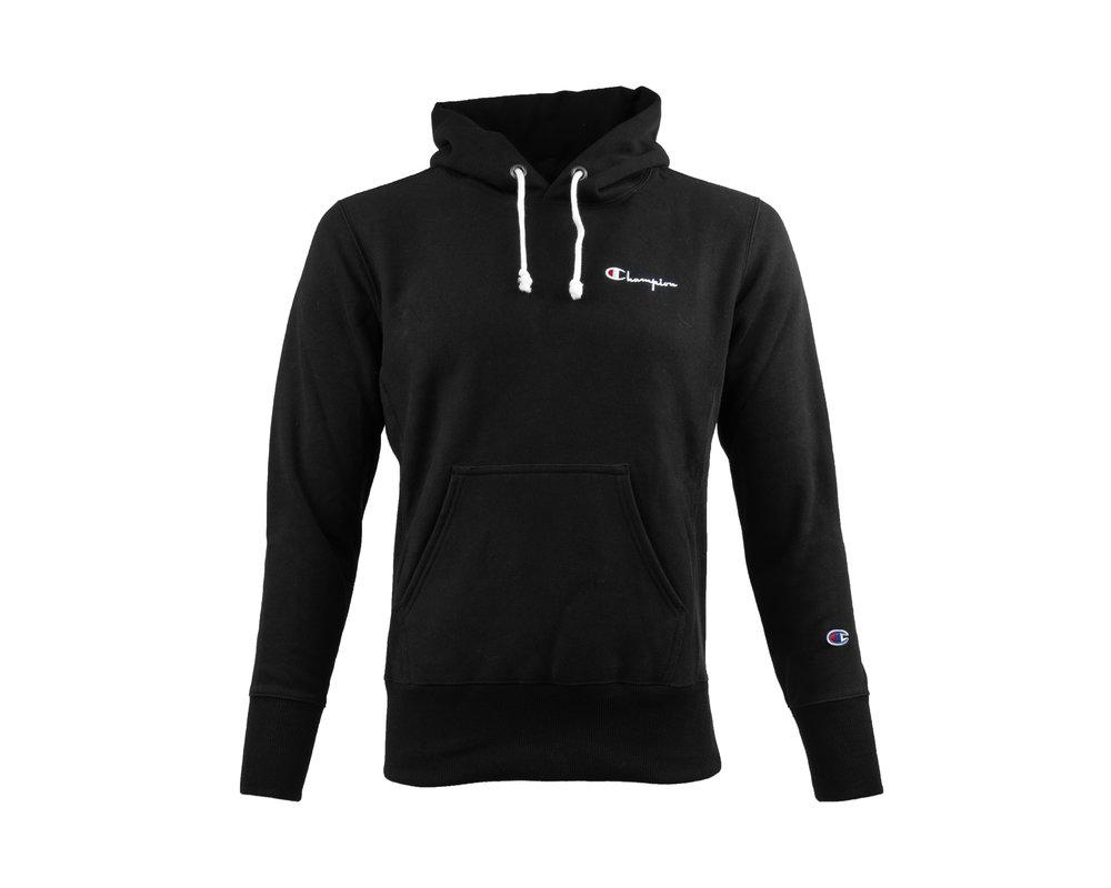 Champion Hooded Sweatshirt Black 212967 S19 KK001