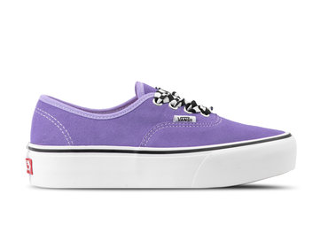 Vans Authentic Platform Checkerboard Lace Violet VN0A3AV8S1V1
