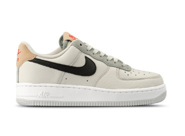 38b1e869d6b150 Nike Air Force 1  07 Light Bone Black Mica Green BV0322 001