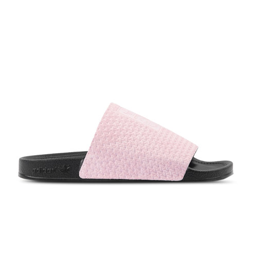 Adilette Luxe Cool Pink Core Black Gold Metallic DA9016