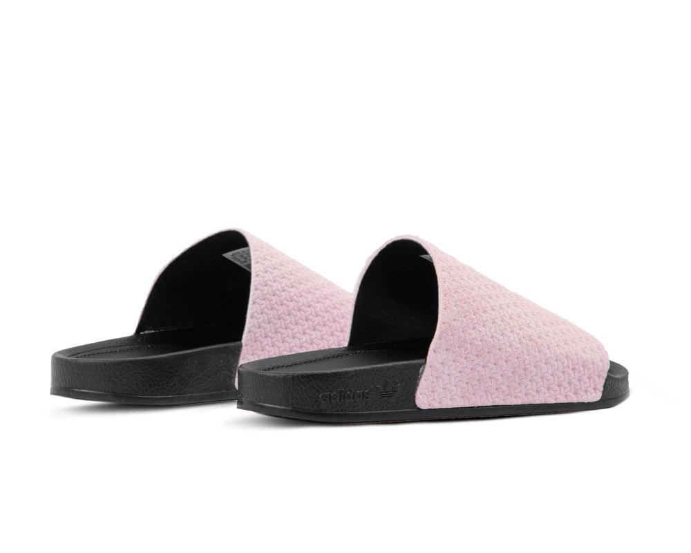Adidas Adilette Luxe Cool Pink Core Black Gold Metallic DA9016
