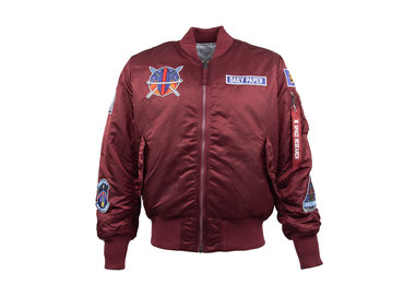 Daily Paper x Alpha Industries Bomber Bordeaux OW01