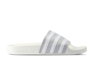 Adidas Adilette Grey Two Footwear White Off White CG6435
