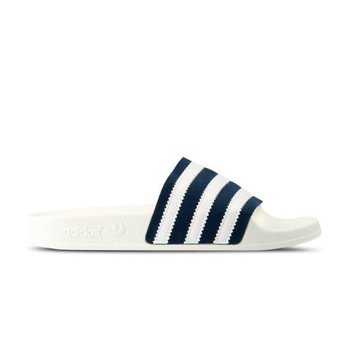 Adilette Collegiate Navy Footwear White Off White CG6436