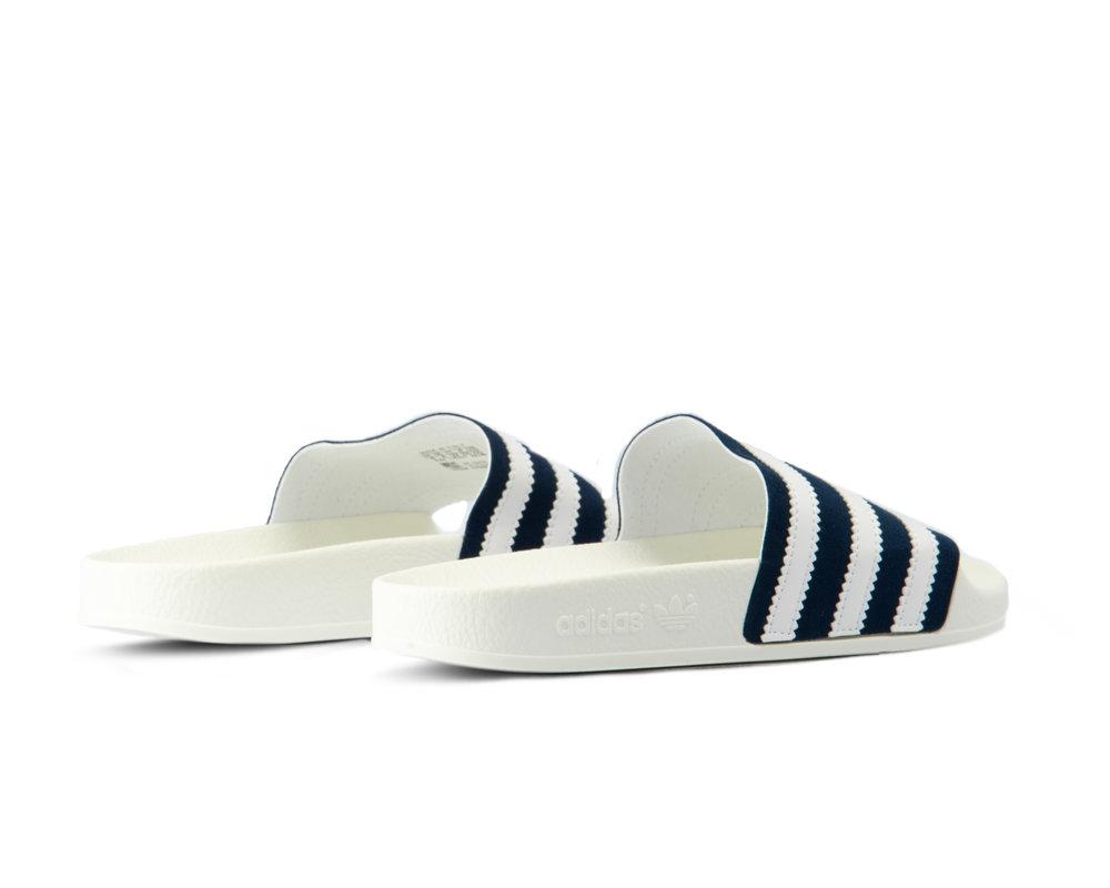 Adidas Adilette Collegiate Navy Footwear White Off White CG6436