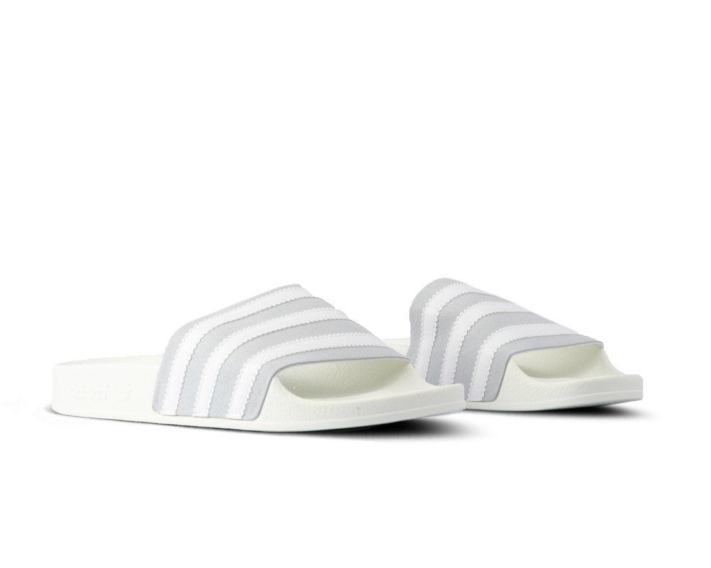 Adidas Adilette Grey Two Footwear White Off White CG6435