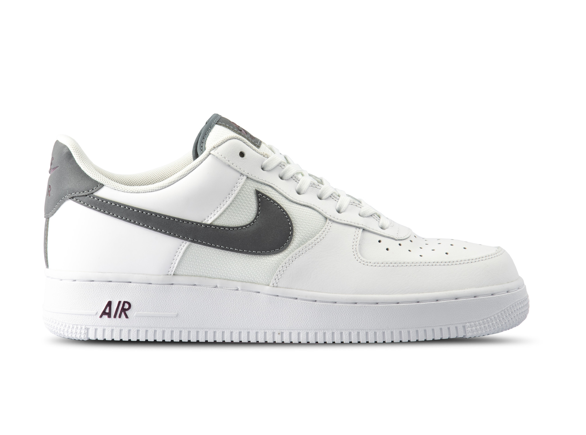 pretty nice f9bfa 69f38 Air Force 1 07 LV8 White Cool Grey Night Maroon BV1278 100