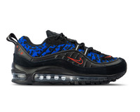 Nike WMNS Air Max 98 Black Habanero Red Racer Blue BV1978 001