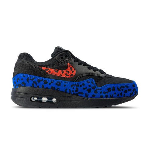 WMNS Air Max 1 Premium Black Habanero Red Racer Blue BV1977 001