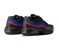 Nike WMNS Air Max 95 Black Black Habanero Red Racer Blue CD0180 001