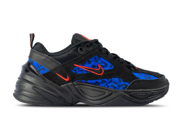 Nike WMNS M2K Tekno Black Habanero Red Racer Blue CD0181 001