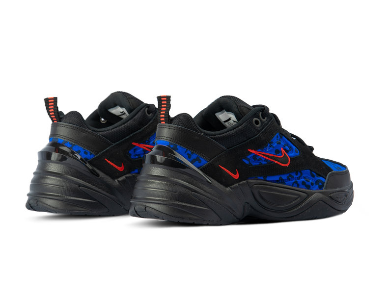 63d13a4ff5be Nike WMNS M2K Tekno Black Habanero Red Racer Blue CD0181 001