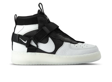 Nike Air Force 1 Utility Mid Off White Black White AQ9758 100
