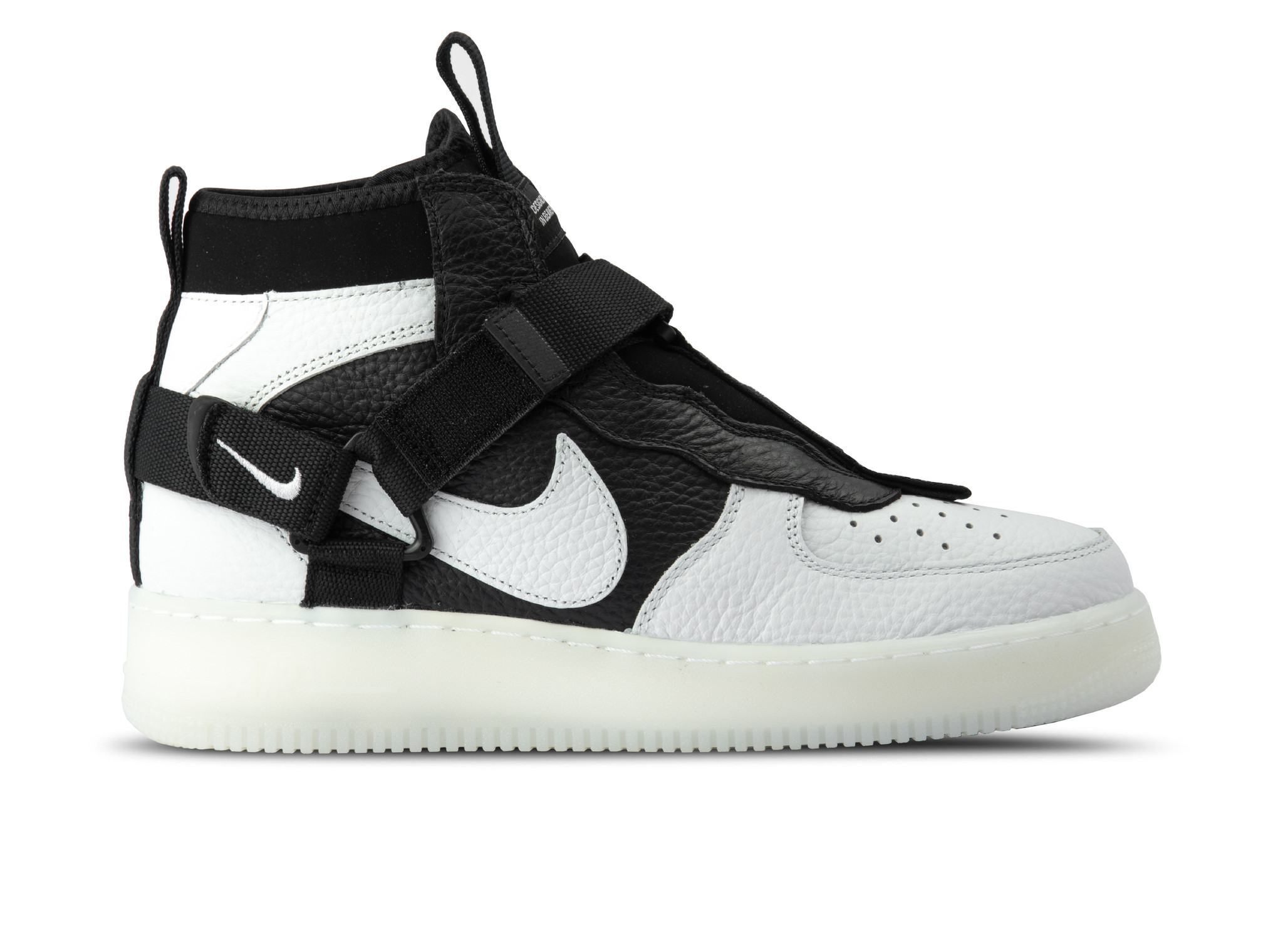 Nike Air Force 1 Utility Mid Off White Black White AQ9758 ...