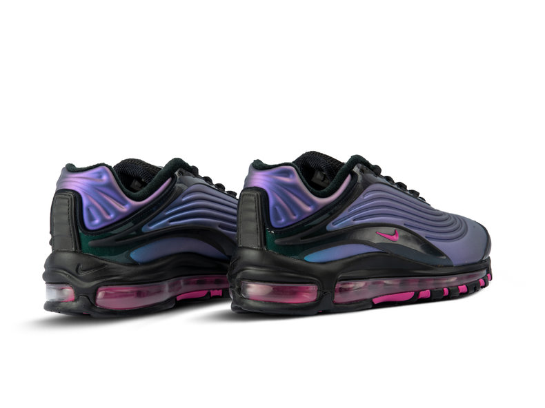 detailed look e8851 0ca17 Air Max Deluxe Black Laser Fuchsia AJ7831 004